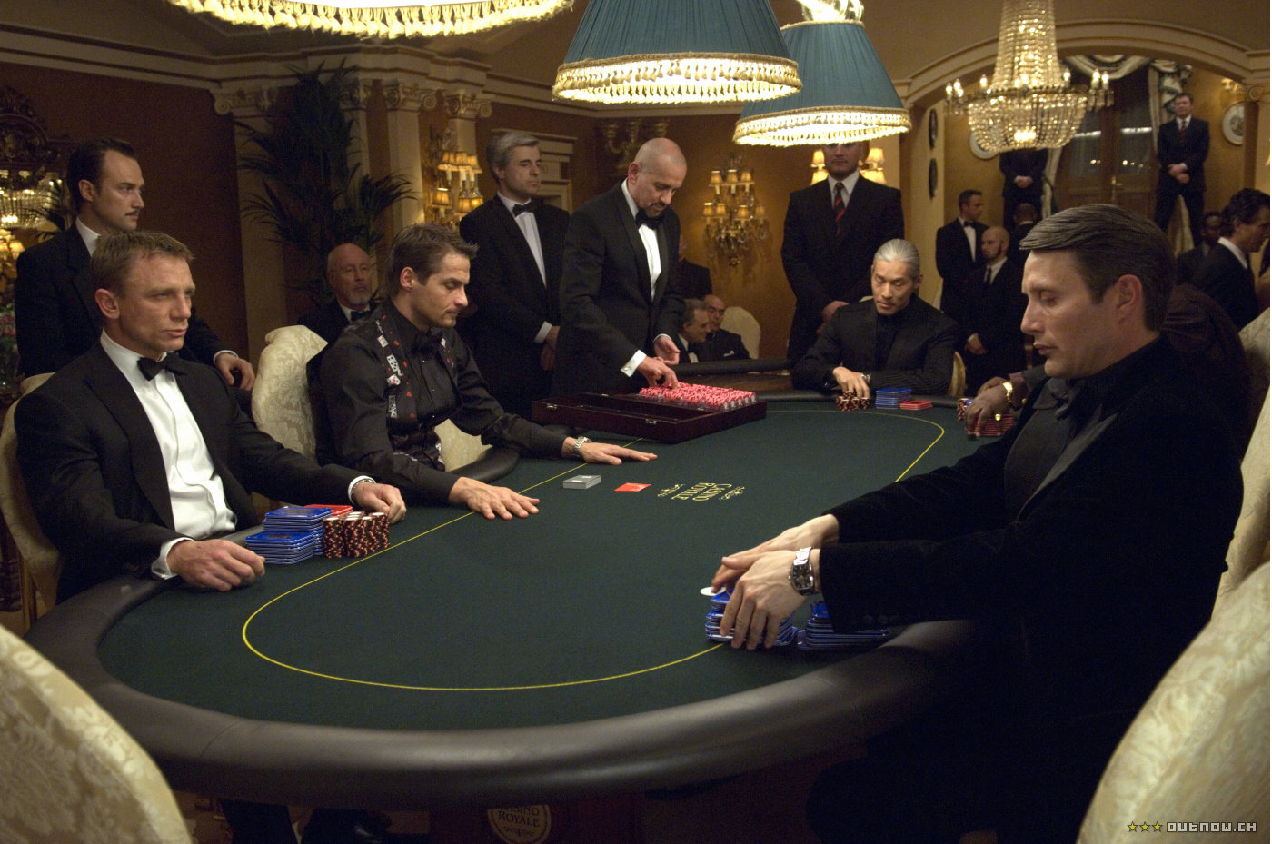 james bond poker game