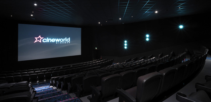 Cineworld auditorium