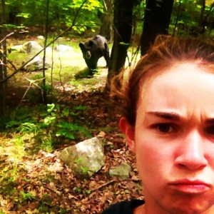 Grizzly Selfie 2