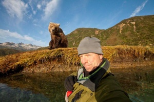 Grizzly Selfie